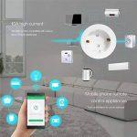 WAZA Connecteur Wi-FI Mini Smart Plug Compatible avec Alexa et Google Assistant, Contrôle Vocal pour appareils Ménagers EU Plug de la marque WAZA image 1 produit
