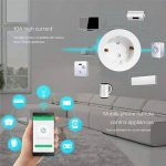 WAZA Connecteur Wi-FI Mini Smart Plug Compatible avec Alexa et Google Assistant, Contrôle Vocal pour appareils Ménagers EU Plug de la marque WAZA image 3 produit