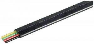 Wentronic Câble téléphonique plat 4 conducteurs Bobine de 100 m Noir de la marque Wentronic image 0 produit