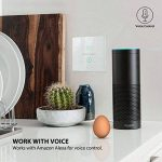Wifi Commutateur intelligent, commutateur d'éclairage mural sans fil Echo Compatible avec Alexa/Google Home, panneau de verre sensible au toucher, pas de concentrateur requis de la marque GREMAG image 1 produit