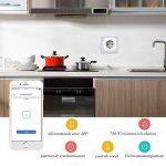 WiFi Intelligente Prise Smart Plug Compatible pour Android iOS Amazon Alexa Google Home Smart IFTTT Prise de Courant aucun Hub Nécessaire Télécommande par smartphone avec Fonction de Calendrier de Partout de la marque CaaWoo image 1 produit