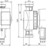Wilo Star-Z - 4132762 - Pompe de Circulation d'eau Potable avec Interrupteur Minuterie - Nova C 230V de la marque Wilo image 3 produit