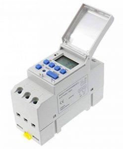 Woljay Minuterie THC15A AC/DC 12V Programmable LCD 16A Relais temporisé Interrupteur de minuterie de la marque Woljay image 0 produit