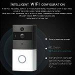 WWAVE Nouveau WiFi sans Fil vidéo interphone Sonnette Faible Puissance Intelligente Sonnette de la marque WWAVE image 3 produit