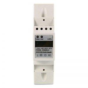 XCSOURCE 50Hz 80A 230V 1 Phase Compteur D'énergie LCD Monophasé Wattmètre DIN-Rail BI103 de la marque XCSOURCE image 0 produit
