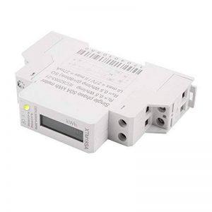 XCSOURCE Compteur d'énergie LCD numérique 50Hz 5 (50) A 230V Monophasé DIN Rail Kilowatt Heure Électricité KWH Puissance TE746 de la marque XCSOURCE image 0 produit