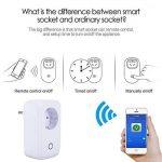 XCSOURCE Télécommande Minuteur Interrupteur Prise Wifi Smart Fiche d'Alimentation avec IOS / Android App AH180 de la marque XCSOURCE image 2 produit