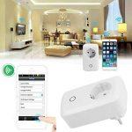 XCSOURCE Télécommande Minuteur Interrupteur Prise Wifi Smart Fiche d'Alimentation avec IOS / Android App AH180 de la marque XCSOURCE image 4 produit