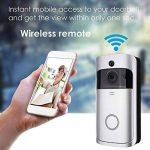 Xsayjia Sonnette vidéo Wi-FI Smart Sonnette Caméra 720 HD Sonnettes Interphone sans Fil Sonnettes pour iOS et Android de la marque Xsayjia image 2 produit