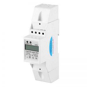 XTM35SA Compteur d'Energie Numérique LCD Monophasé 2 Fil KWh Mètre DIN-Rail Compteur Électrique 10 (40) A de la marque Walfront image 0 produit