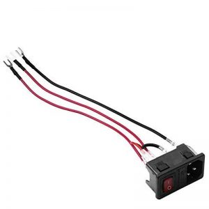 XuBa Prise de courant de commutateur de sécurité de commutateur de sécurité de court-circuit du commutateur d'alimentation 220V / 110V 15A de pièces de l'imprimante 3D de la marque XuBa image 0 produit