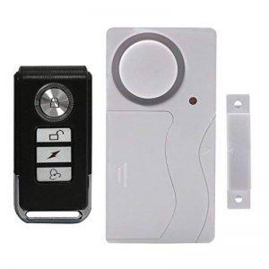 Yblntek - Alarme sans fil avec capteurs magnétiques pour portes et fenêtres - Avec télécommande et sonnette - Alarme ultra-forte (105dB) pour maison, voiture, bureau de la marque YBLNTEK image 0 produit