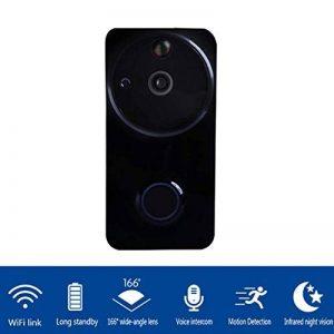 YFQH Sonnette Caméra Vidéo Maison Sonnette Smart WiFi Téléphone Mobile Caméra De Surveillance À Distance de la marque YFQH image 0 produit