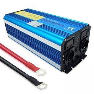 yinleader inverseur de Courant Onde Pure 4000W 8000W transformateur DE 12V à 230V convertisseur USB LED 2Prise pour Voiture Caravane Camping de Voyage de la marque Yinleader image 0 produit