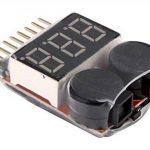YUNIQUE FRANCE ® 1 PIECE 1S-8S Lipo Batterie Tension Faible Test VOLTMETRE testeur tester monitor Buzzer Alarme indicateur de la marque YUNIQUE image 2 produit