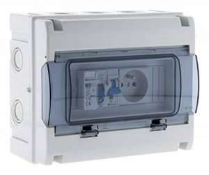 Zenitech 150217 Coffret Électrique Étanche IP65 8 Modules, Blanc de la marque Zenitech image 0 produit