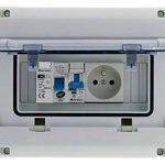 Zenitech 150217 Coffret Électrique Étanche IP65 8 Modules, Blanc de la marque Zenitech image 1 produit