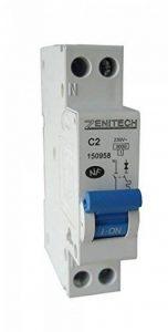 Zenitech - Disjoncteur PH/N - 2A NF pour Cumulus et Chauffe-Eau de la marque Zenitech image 0 produit