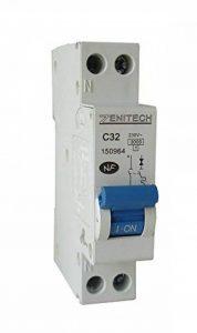 Zenitech - Disjoncteur PH/N de la marque Zenitech image 0 produit
