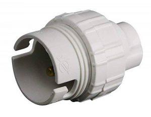 Zenitech - Douille B22 Nylon Simple Bague Blanc de la marque Zenitech image 0 produit