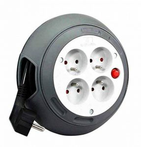Zenitech - Enrouleur HO5VV-F 4 Prises 3G1,5 3m + Coupe-Circuit de la marque Inotech image 0 produit