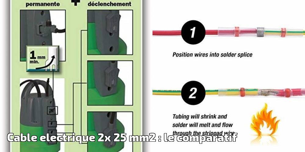 2x Électricité 2019Brico Mm2Le Comparatif Pour Electrique 25 Cable xQrCWEoedB