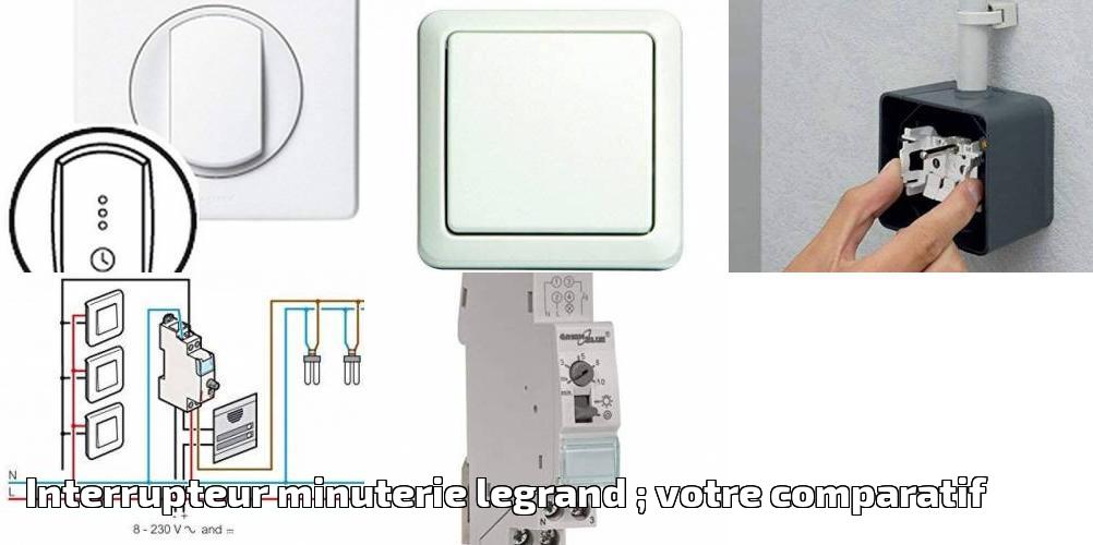 Legrand LEG78420 Mosaic Interrupteur temporis/é programme 2 modules Blanc