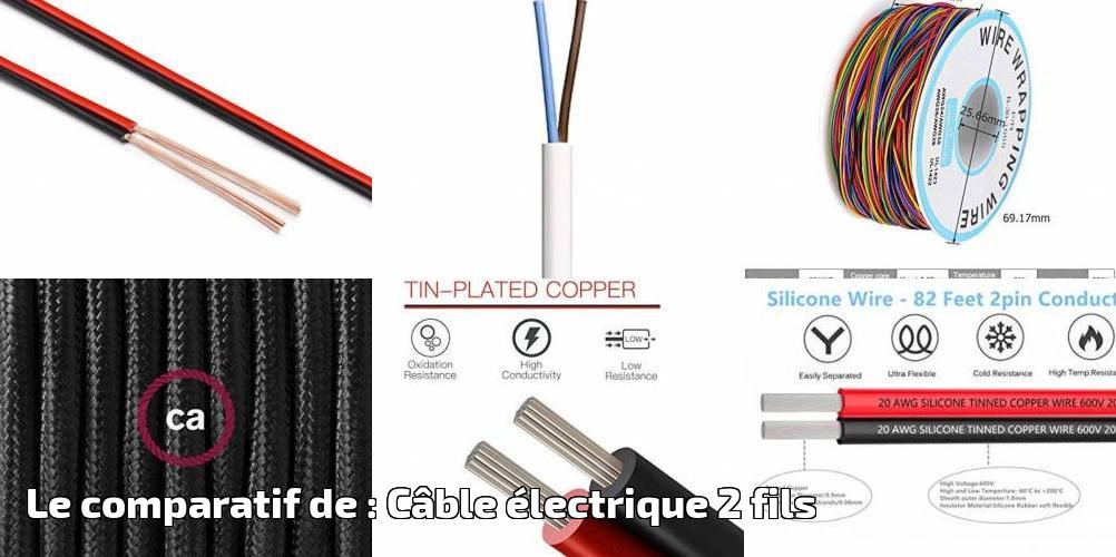 C/âble multiconducteur pour lautomobile // remorque 5m 20m ou 50m choix: 20m m/ètre, 2 fils 2 x 0.75 mm/² c/âble meplat 10m