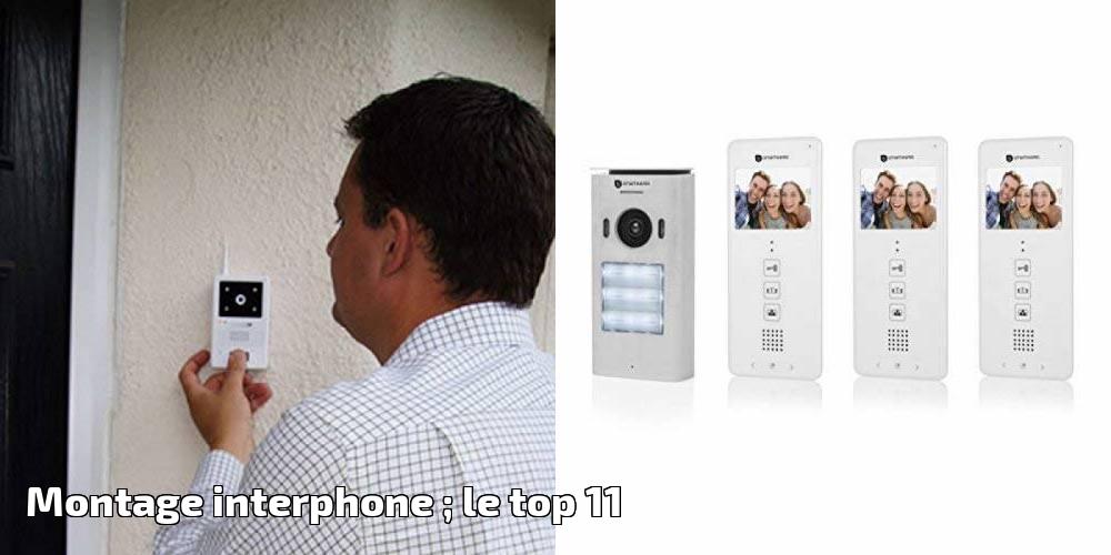 FERMAX 3390 Loft Basic Interphone Filaire Montage Mural